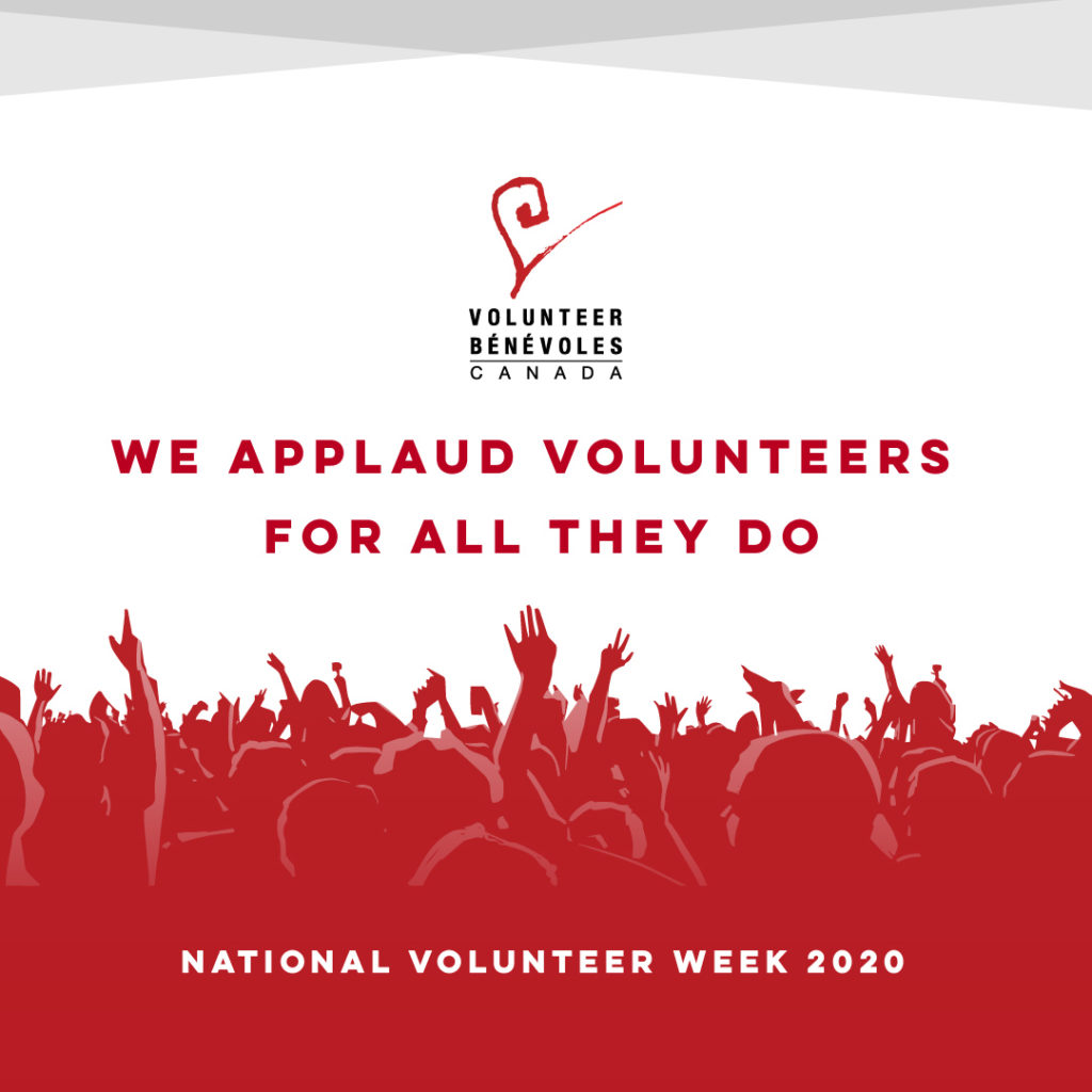 It's time to applaud this country's volunteers.