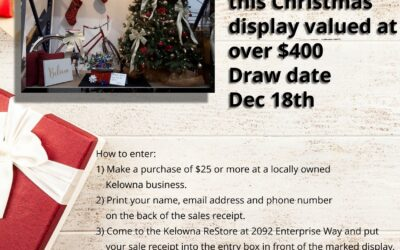 Attention local businesses in Kelowna!